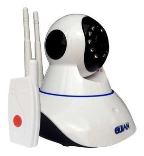 Camara Ip Y Alarma Con Sensor Puerta Wifi Seguridad Casa