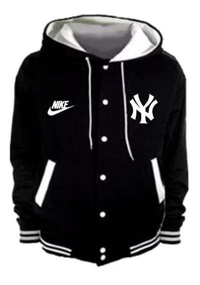 Chaqueta Universitaria Estampado New York Yankees Logo Nike