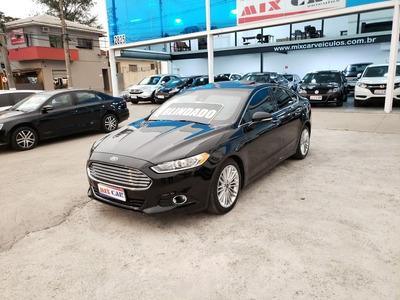 Ford Fusion Titanium 2016 Blindado 2.0 Turbo Impecável