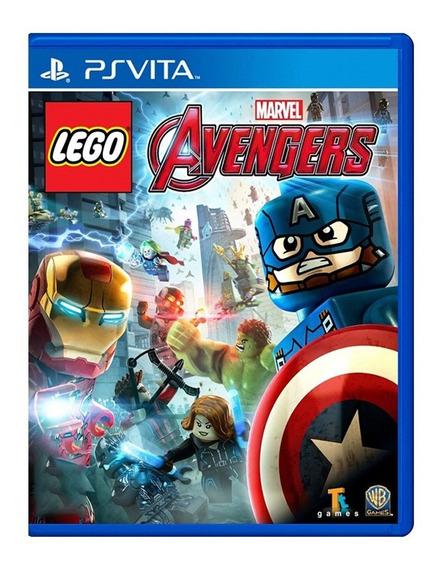 Lego Marvel Vingadores - Ps Vita - Usado - Original