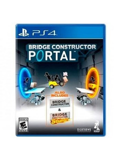 Bridge Constructor Portal Ps4 Generico
