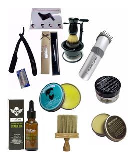 Kit Barbero Clasico Completo, Barberia Profesional