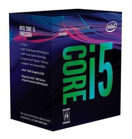 Processador Intel 8400 Core I5 (1151) 2.80 Ghz Box - Bx8068