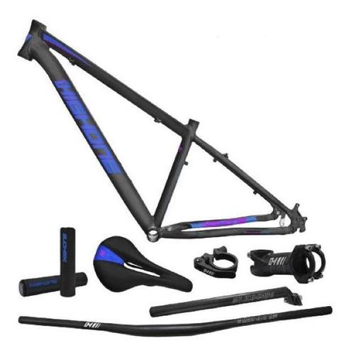 Kit Quadro High One Next Grafite/azul/rosa Tam 17