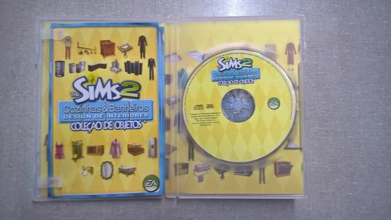 Jogo Pc The Sims 2 Desingn De Interiores C/caixa&manual 14.0
