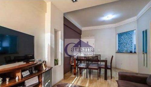 Imagem 1 de 26 de Apartamento Com 3 Dormitórios, Sendo 1 Suíte, À Venda, 82 M² Por R$ 390.000 - Vila Príncipe De Gales - Santo André/sp - Ap3886
