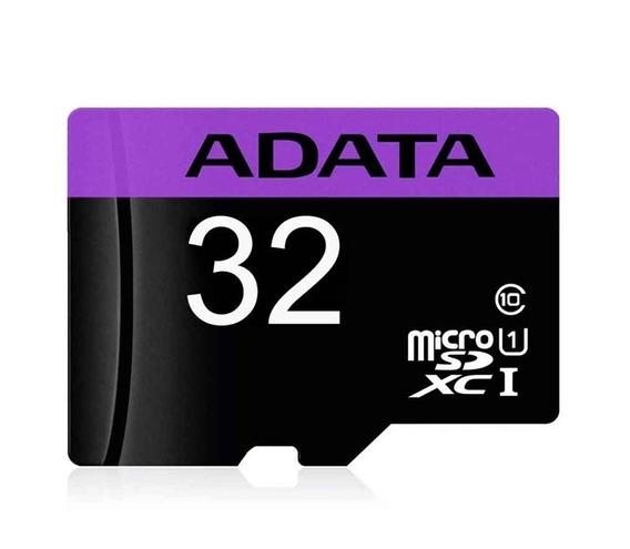 Memoria Adata Usdh32 Micro Sd 32gb Clase 10 Adaptador
