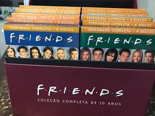 Box Dvd Série Friends 10 Temporadas Completo Black Friday