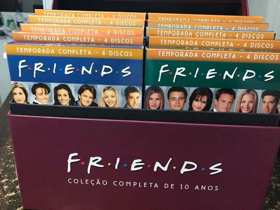 Box Dvd Série Friends 10 Temporadas Completo