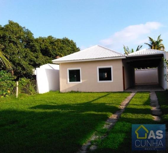 Casa Para Locação Em Araruama, Praia Do Hospício, 2 Dormitórios, 1 Suíte, 1 Banheiro - 0219_2-917851