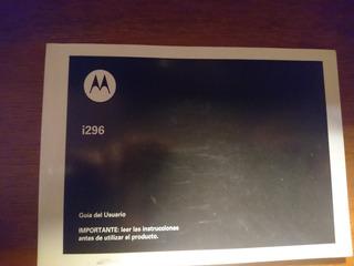 Manual De Nextel Motorolai296