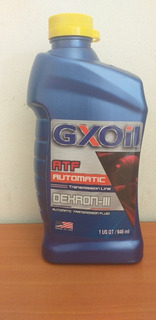 Aceite Hidraulico Dexron 3 Caja Automatica. Nos Volvimos Loc