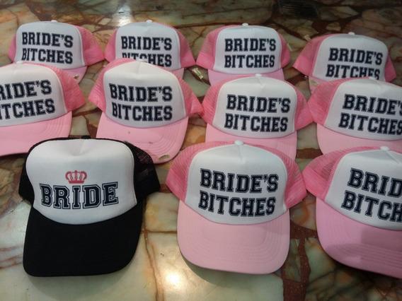 Gorras Despedida De Soltera Team Bride Squad Bitche