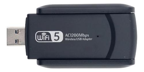 Imagem 1 de 7 de Adaptador Wifi Dual Band 1200mb 2.4/5ghz Wireless 5g Usb 3.0