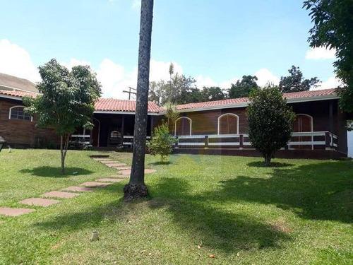 Chácara Em Condomínio Fechado Com 4 Dormitórios À Venda, 1480 M² Por R$ 1.200.000 - Vila Machado - Mairiporã/sp - Ch1146