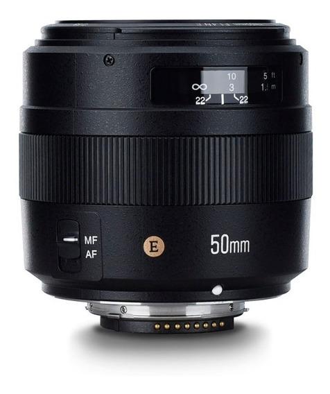 Lente Yongnuo 50mm F/1.4 N E