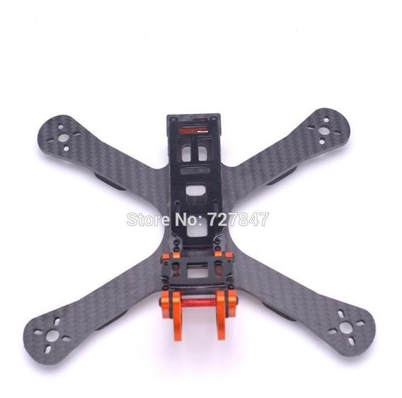 Frame Drone Racer Fpv Puda Camaleão 220mm+helices+cinta Lipo