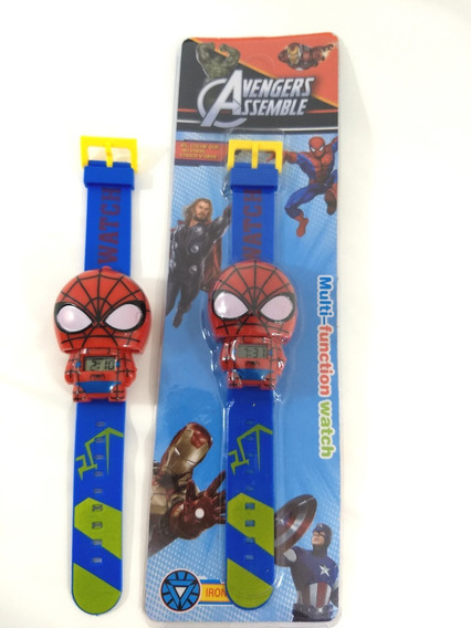 Relógio Homem Aranha Infantil Promoção!!!