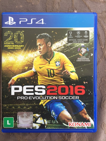 Pro Evolution Soccer Pes 2016 Ps4 Mídia Física Entrega Imedi