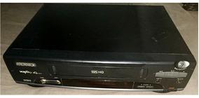 Video Cassete Magnavox Vcr-plus 4 Cabeças + Detalhes Abaixo