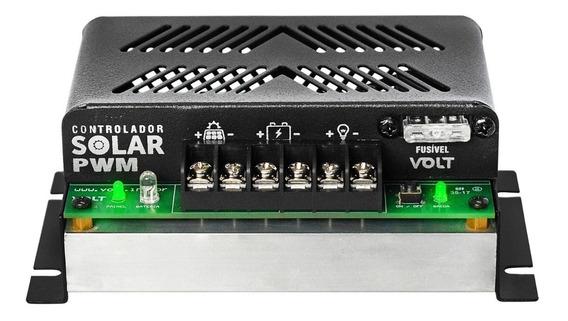 Controlador De Carga Solar 20a 12v/24v Pwm Volt