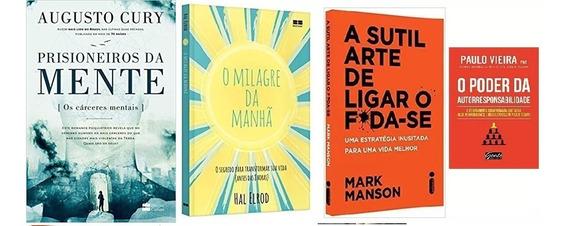 Prisioneiros Da Mente + O Milagre Da Manhã + 2 Livros