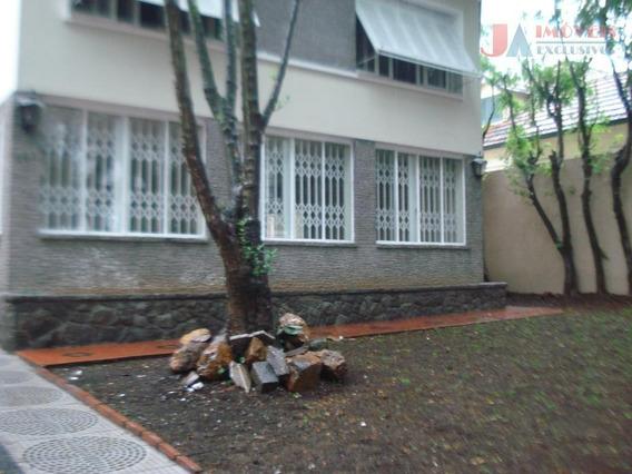 Casa Para Alugar, 450 M² Por R$ 9.500,00/mês - Pacaembu - São Paulo/sp - Ca0346