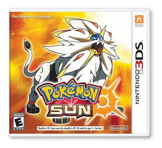 Pokémon Sun - 3ds