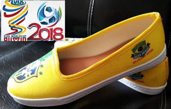 Sapatilhas Da Copa 2018 - Somente Grade Fechada 12 Pares