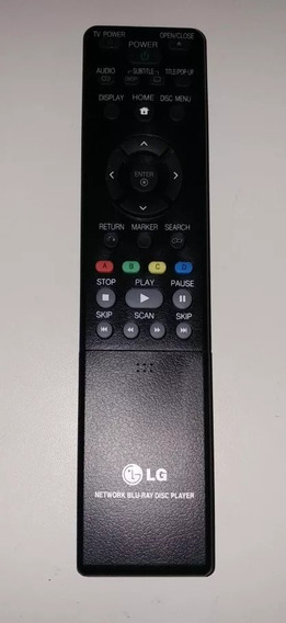 Controle Remoto Blu-ray Lg Bd370 Novo Original Akb68183601