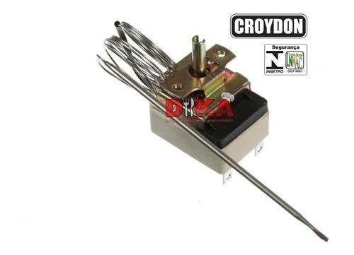 Termostato Regulador Cozedor De Massas Elétrico Croydon