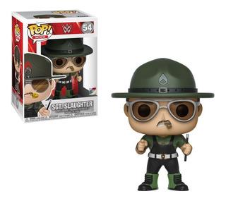 Figura Funko Pop! Wwe 54 Sgt Slaughter Colección Lucha