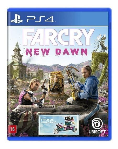 Jogo Far Cry New Dawn - Ps4 Mídia Fisica Edição Limitada