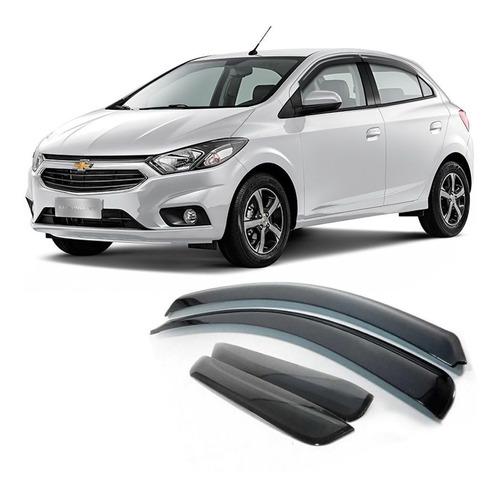Calha De Chuva Chevrolet Onix 2012 A 2019 Defletor 4 Portas