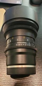 Lente Rokinon 14mm T3.1 Cine Ds Para Sony E-mount