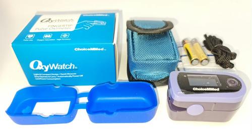 Oximetro De Pulso Con Curva Choicemmed Oxywatch