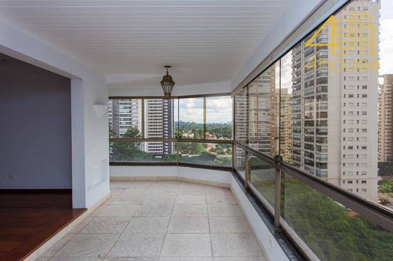Campo Belo - Exuberante Apartamento Com Varanda 317m² 04 Suítes 04 Vagas Na Rua Zacarias De Gois Para Venda. - Ap2242