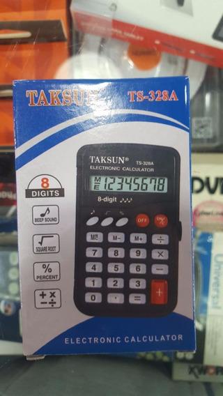 Mini Calculadora 8 Digitos Ts-328a Raiz Cuadrada Porcentajes