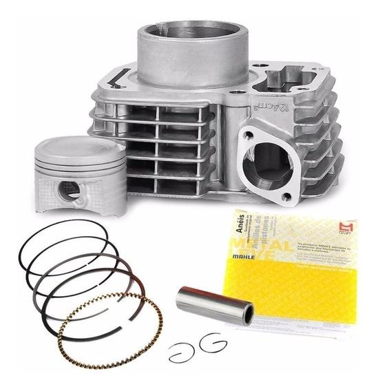 Cilindro Motor Kit Titan 150 E Nxr150 2006 A 2013 Metal Leve