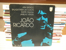 Compacto João Ricardo Balada Para Um Coiote Secos Molhados