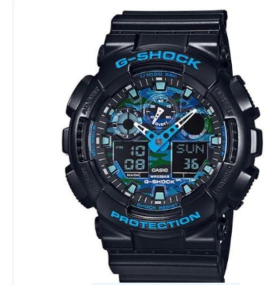 Relógio Casio G-shock Ga-100cb-1adr
