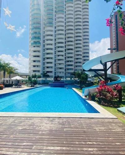Apartamento Para Venda Em Natal, Ponta Negra - Condomínio Estrela Do Atlântico, 2 Dormitórios, 1 Suíte, 2 Banheiros, 1 Vaga - Ap1725-es_2-1163773