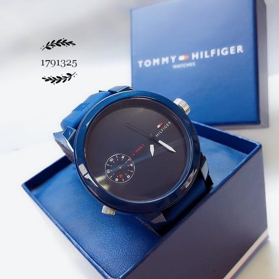 Relógio Silicone 1791325 Borracha Azul * Tommy Hilfiger