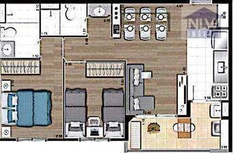 Apartamento À Venda, 55 M² Por R$ 320.100,00 - Vila Galvão - Guarulhos/sp - Ap2746