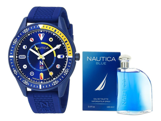 Reloj Nautica Para Caballero Modelo: Napsps904 & Nautica Env