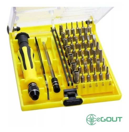 Kit Destornillador Precisión 45 Piezas iPhone iPad