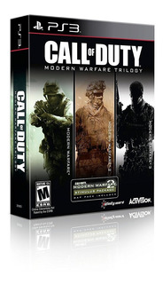 Ps3 Juego Call Of Duty Modern Warfare Trilogia Playstation 3