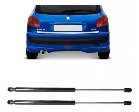 Par Amortecedor Tampa Traseira Malas Peugeot 206 207 Hatch