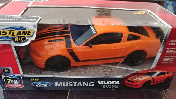 Carro Control Remoto Mustang Boss 302 Fast Lane Toysrus 35ve