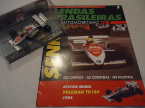 Lendas Brasileiras Do Automobilismo 05 - Ayrton Senna